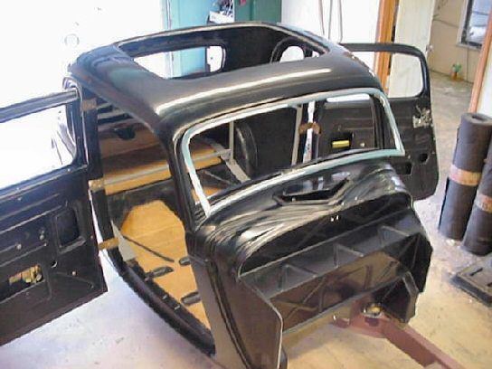 1934 Ford 5 Window Coupe Street Rod Kit