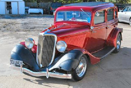 1934 ford model 40a 4 door sedan street rod for 1934 ford four door