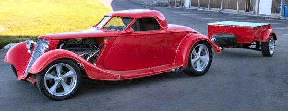 1934 FORD V-12 PHANTOM RETRACTABLE HARDTOP COUPE
