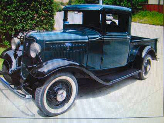 1934 ford pickup truck restored to mint condition. Black Bedroom Furniture Sets. Home Design Ideas