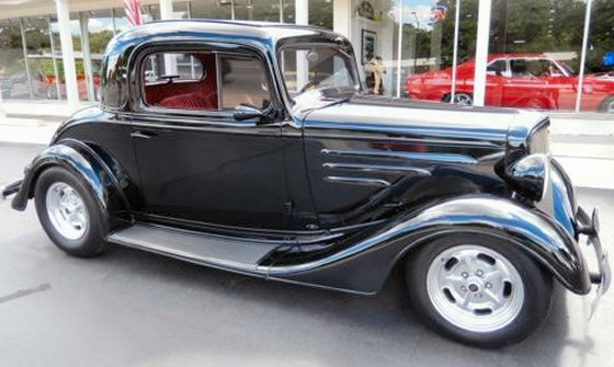 1935 chevrolet 3 window coupe all steel street rod for 1935 3 window coupe