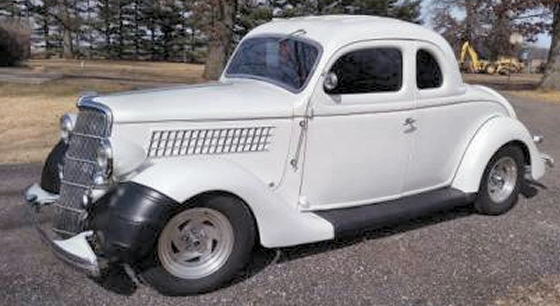 1935 ford 5 window coupe steel street rod for 1935 ford 5 window coupe for sale