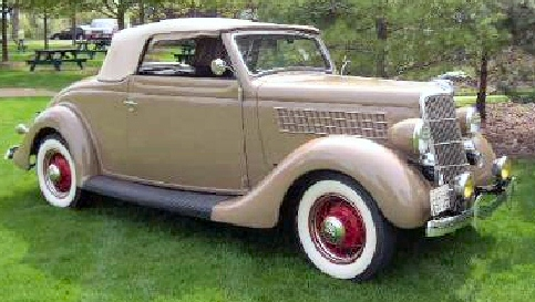 1935 FORD CONVERTIBLE