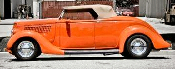 Photo of 1935 Ford Convertible Street Rod