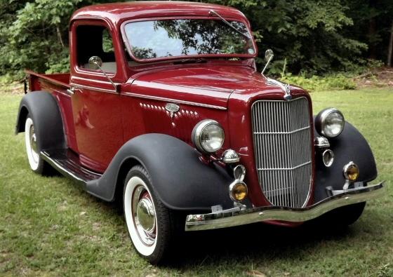 1935 ford 1 2 ton pickup hotrodded. Black Bedroom Furniture Sets. Home Design Ideas
