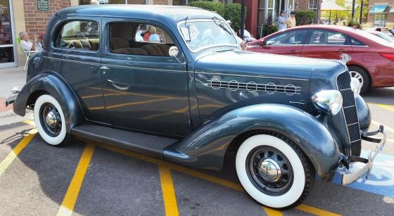 1935 plymouth pj deluxe 2 dr humpback touring sedan for 1935 plymouth 2 door sedan