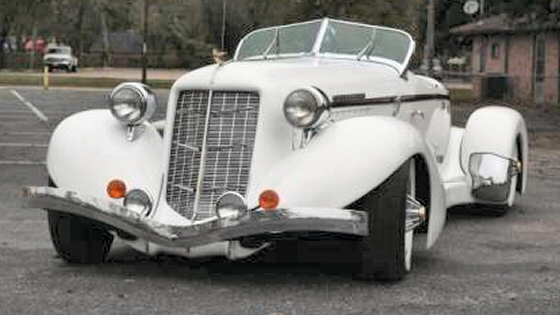 Photo of 1936 Auburn Boattail Replica  by California Coach Company