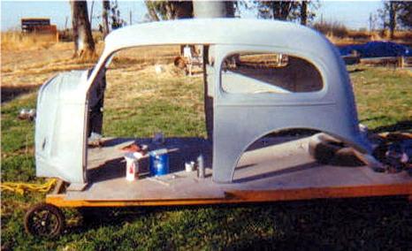 1936 chevy 2 door sedan