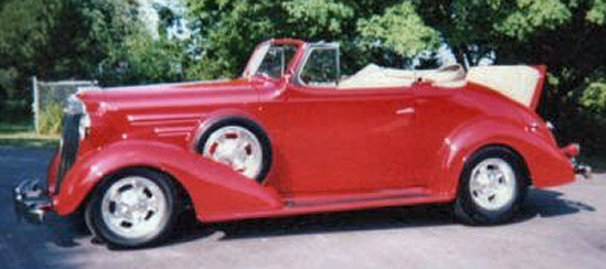 Photo of 1936 Chevy Cabriolet Street Rod