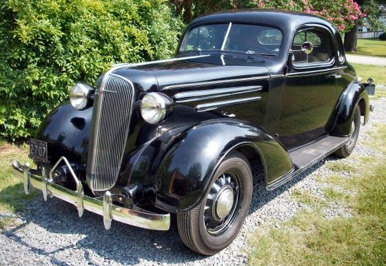 1936 Chevrolet Coupe Unrestored Original