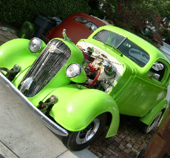 1936 Chevy Coupe Street Rod