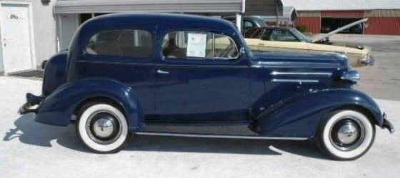 Photo of 1936 Chevrolet Humpback Coupe