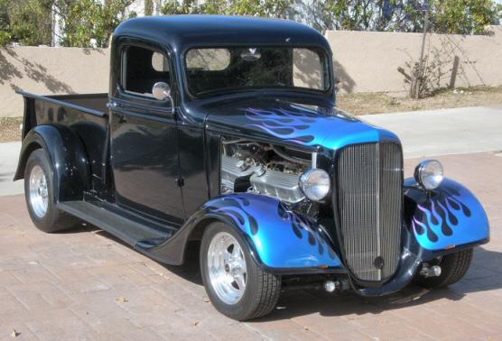 1936 Chevy Pickup Street Rod