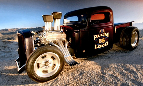 1936 Chevy Pickup Custom Street Rod