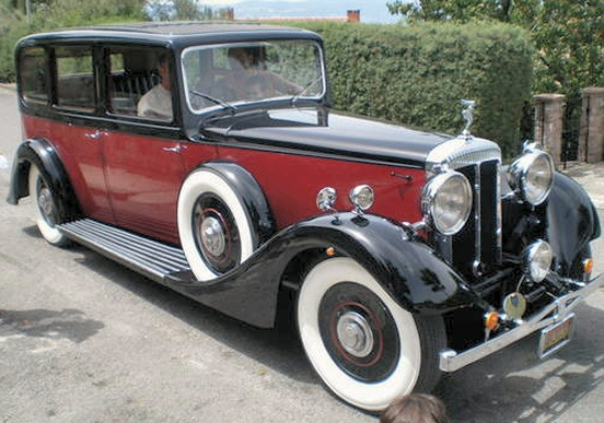 1936 Daimler 4 1/2 Straight Eight Limousine Hooper body, MY1936