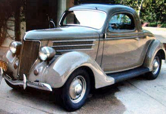1936 ford rare all steel 3 window coupe for 1936 ford 3 window