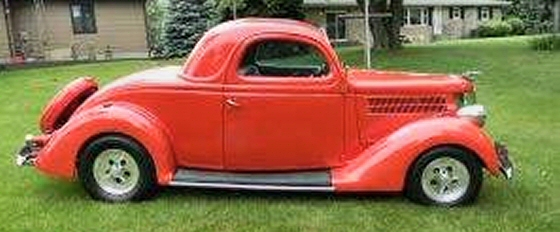 1936 ford 3 window all steel coupe for 1936 ford 3 window for sale