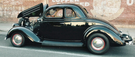 Photo of 1936 Ford 5 Window Coupe Street Rod With Flatehead V8