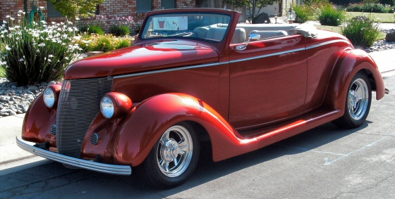 Photo of 1936 Ford Convertible Street Rod