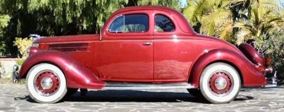 Photo of 1936 Ford Deluxe Coupe With Rumble Seat