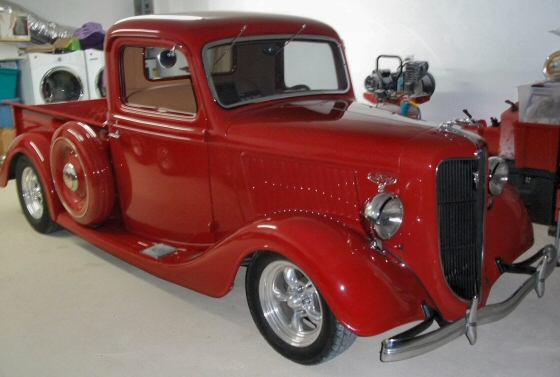 Photo of 1936 Ford Deluxe Pickup California Street Rod