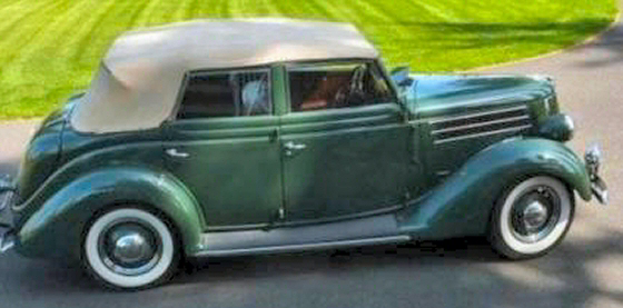 Photo of 1936 Ford Model 48 4DR Convertible Restored