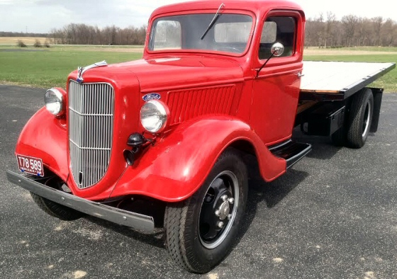Photo of 1936 FORD 1 1/2 TON STAKE TRUCK NEW RESTORATION