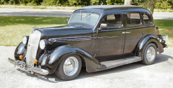 1936 plymouth 4 door sedan street rod for 1936 dodge 4 door sedan