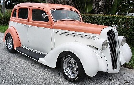1936 plymouth street rod 4 door sedan for 1936 plymouth 4 door