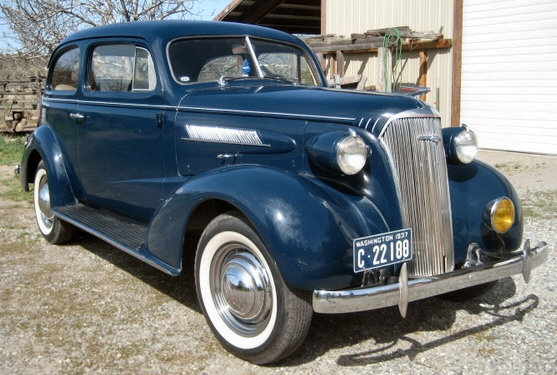 1937 CHEVY TWO DOOR SEDAN