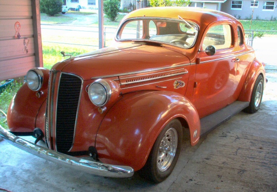 1937 Dodge Coupe Street Rod Project Car For Sale: 1937 DODGE COUPE Street Rod