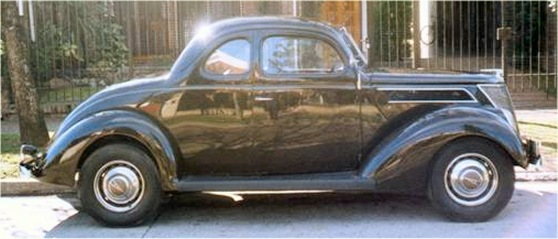1937 Ford Business Coupe - For sale in Argentina.