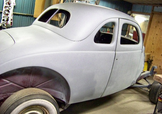 1937 Ford Coupe Street Rod Projects