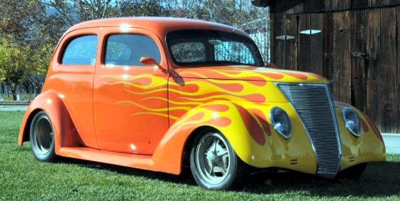 1937 ford slantback 2 door sedan street rod for 1937 ford 2 door sedan for sale