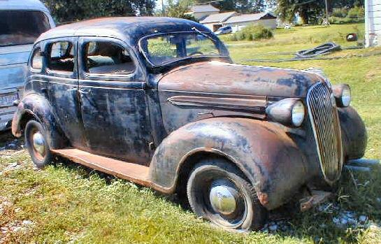 1937 plymouth 4dr sedan for 1937 plymouth 4 door sedan