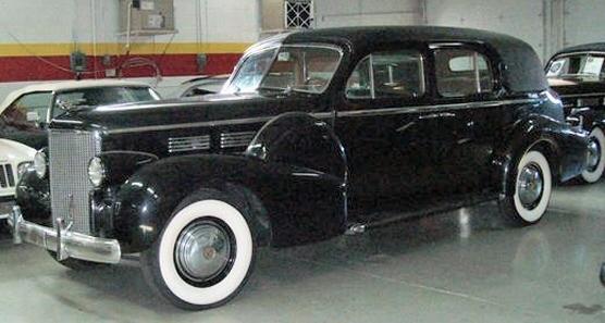 1938 Cadillac Fleetwood Series 75 Limousine