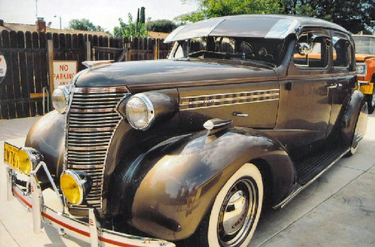 1938 Chevy 4 Door