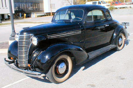 1938 Chevy Coupe Project Sale http://www.americandreamcars.com ...