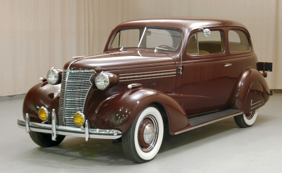Photo of 1938 Chevy Master Deluxe 2DR Sedan