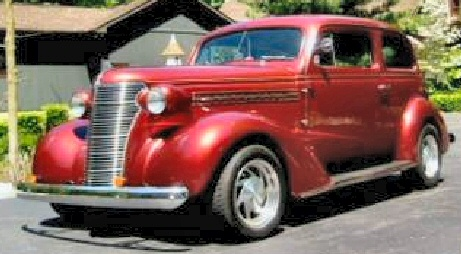 1938 Chevy Tudor Sedan Street Rod