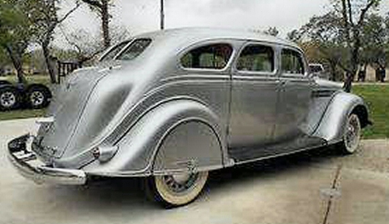 Photo of 1938 Chrysler Airflow 4 Door Sedan