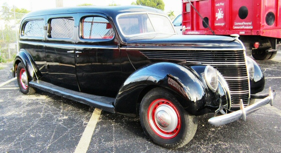 Photo of  1938 Ford Ambulance/Hearse