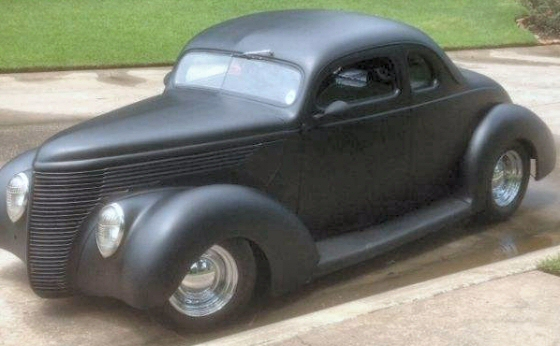 1938 Ford Coupe Steel Street Rod