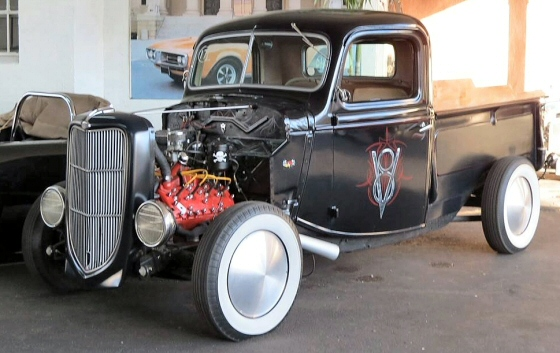 Photo of 1938 Ford Pickup Street Rod With Flathead V8