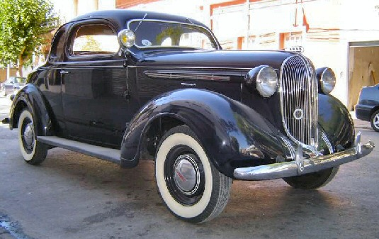 1938 Plymouth 5 Window Coupe