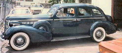 1938 Buick Road Master Formal Sedan 81F