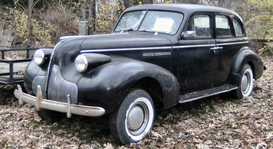 Photo of 1939 Buick Special 4DR Sedan No Motor Ot Trans Project