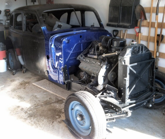 Photo of 1939 Cadillac Model 6119 Sedan Project