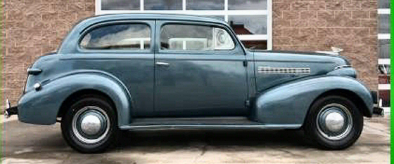 Photo of 1939 Chevrolet Master Deluxe 2DR Sedan