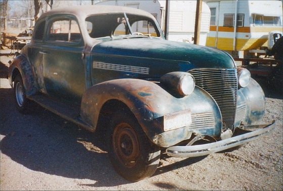 Home » 1936 Chevy Project Cars For Sale